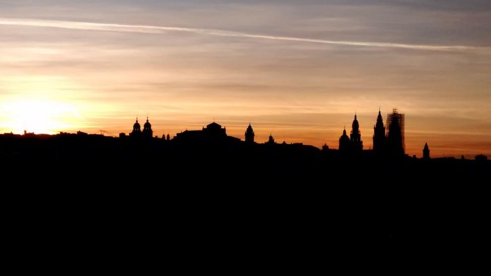 Amanecer Santiago de Compostela