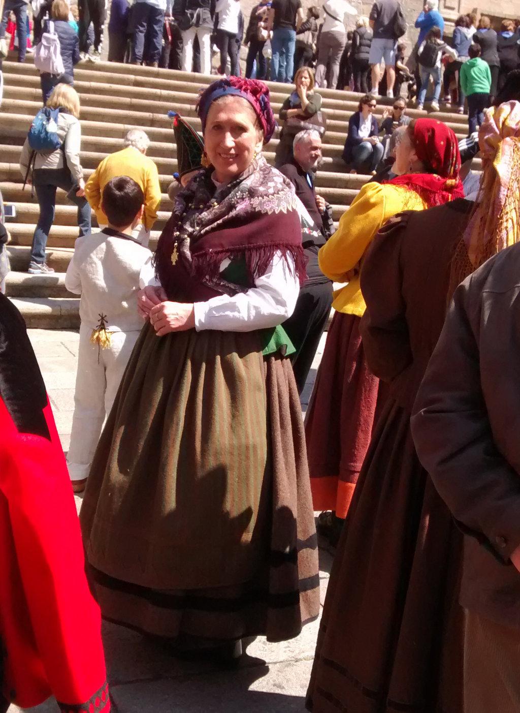 Traje popular de Galicia