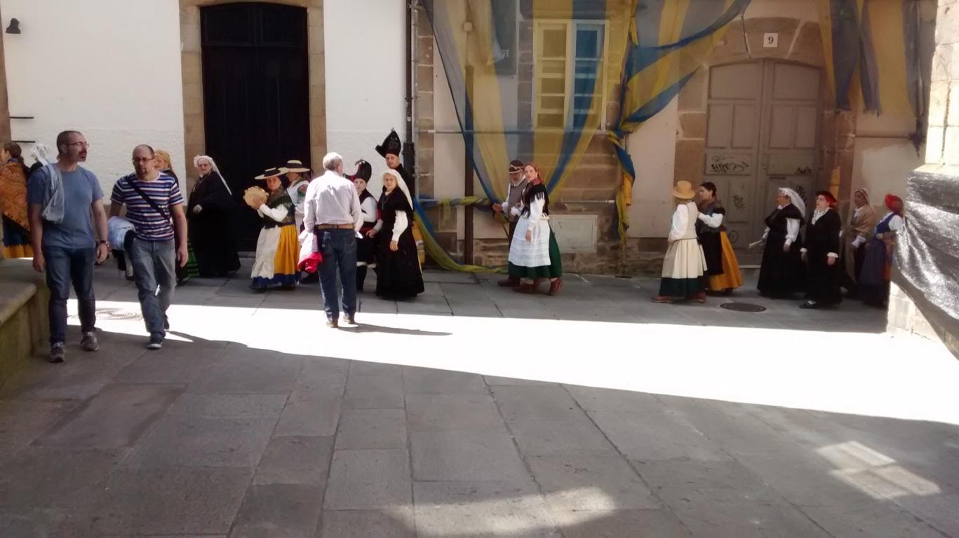 Desfile de galegos