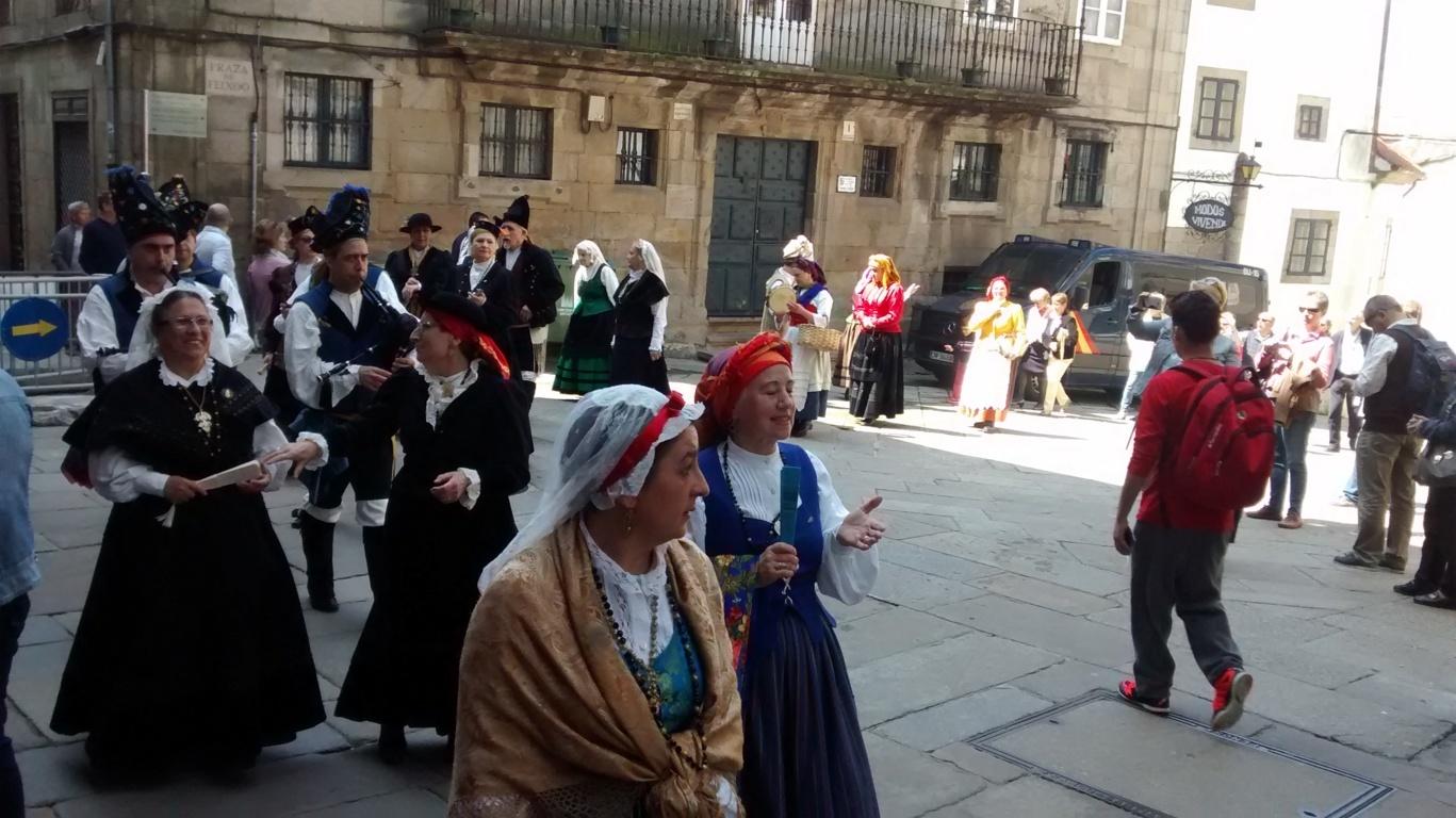 Desfile trajes de galicia