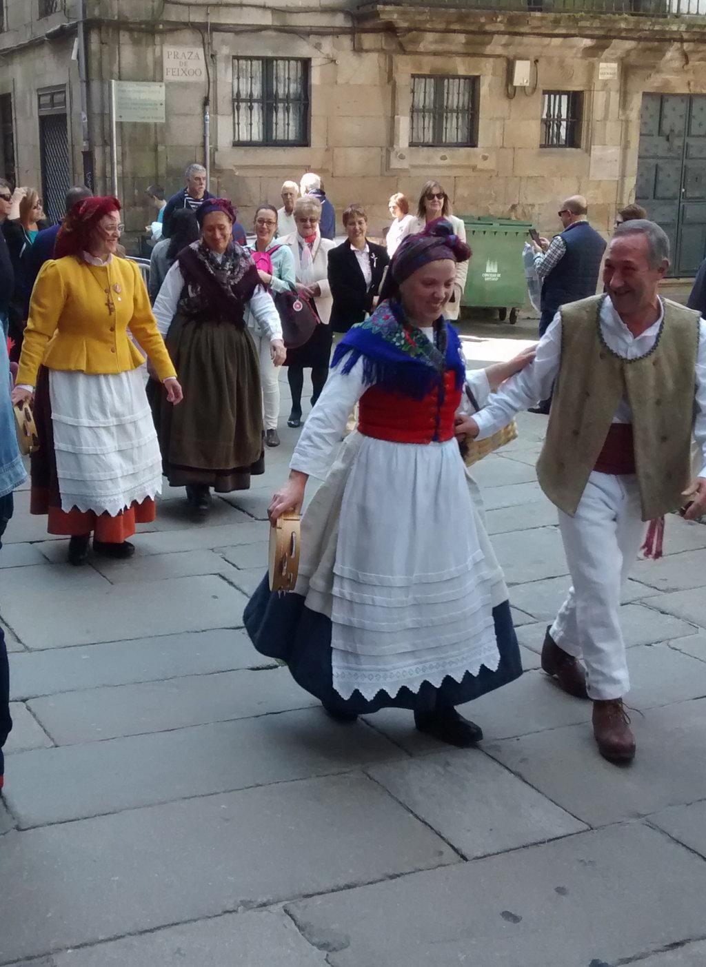 Galegos paseando