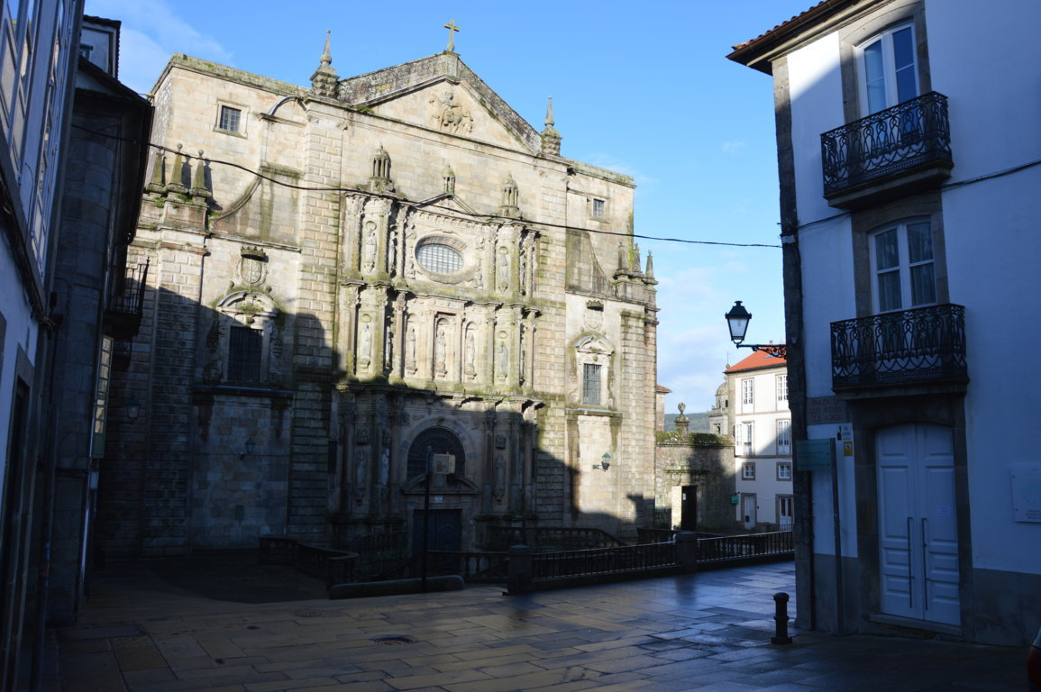 Iglesia San martín Pinario