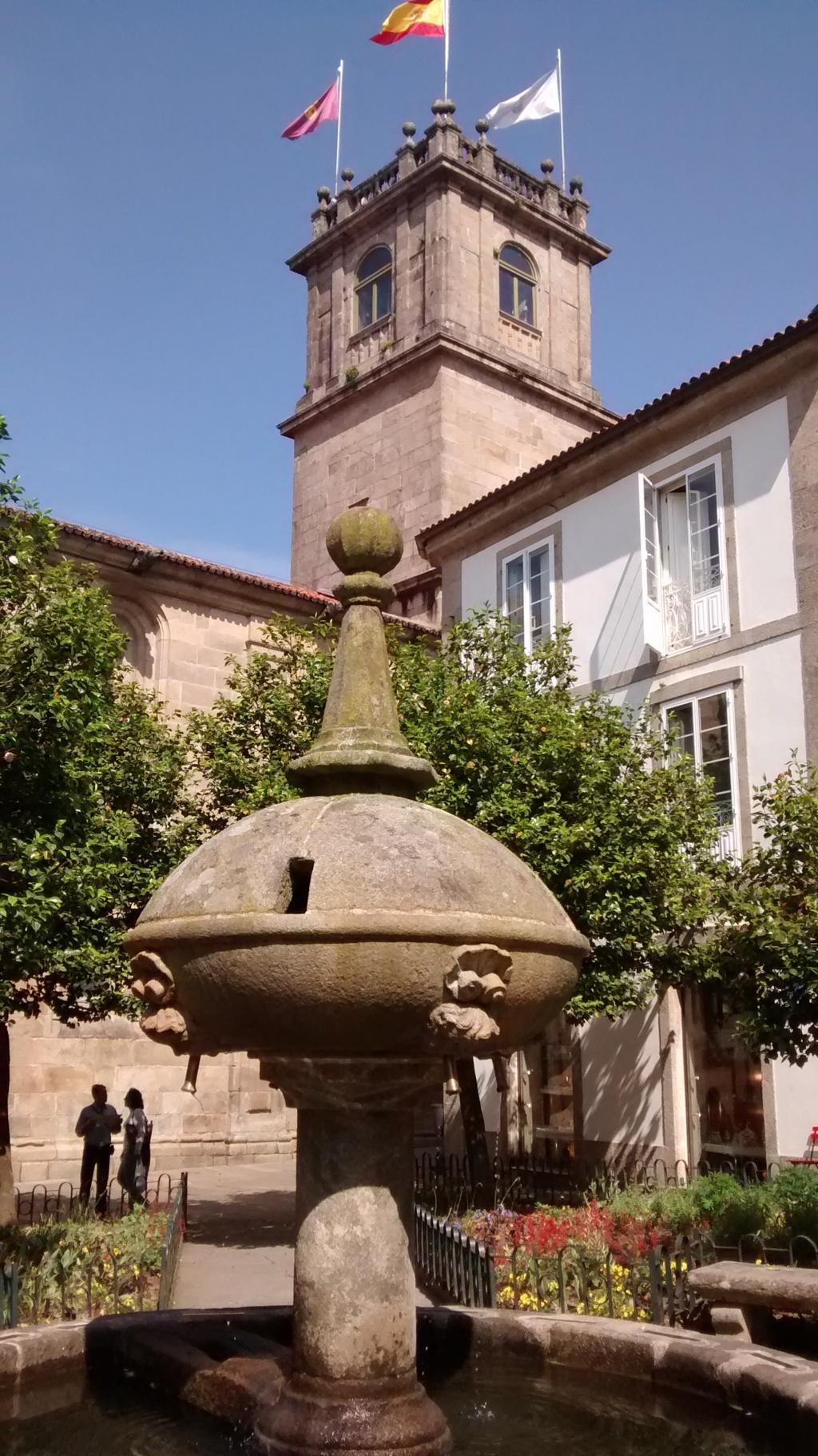 Torre entre pazo de Fonseca y Sas Xerome