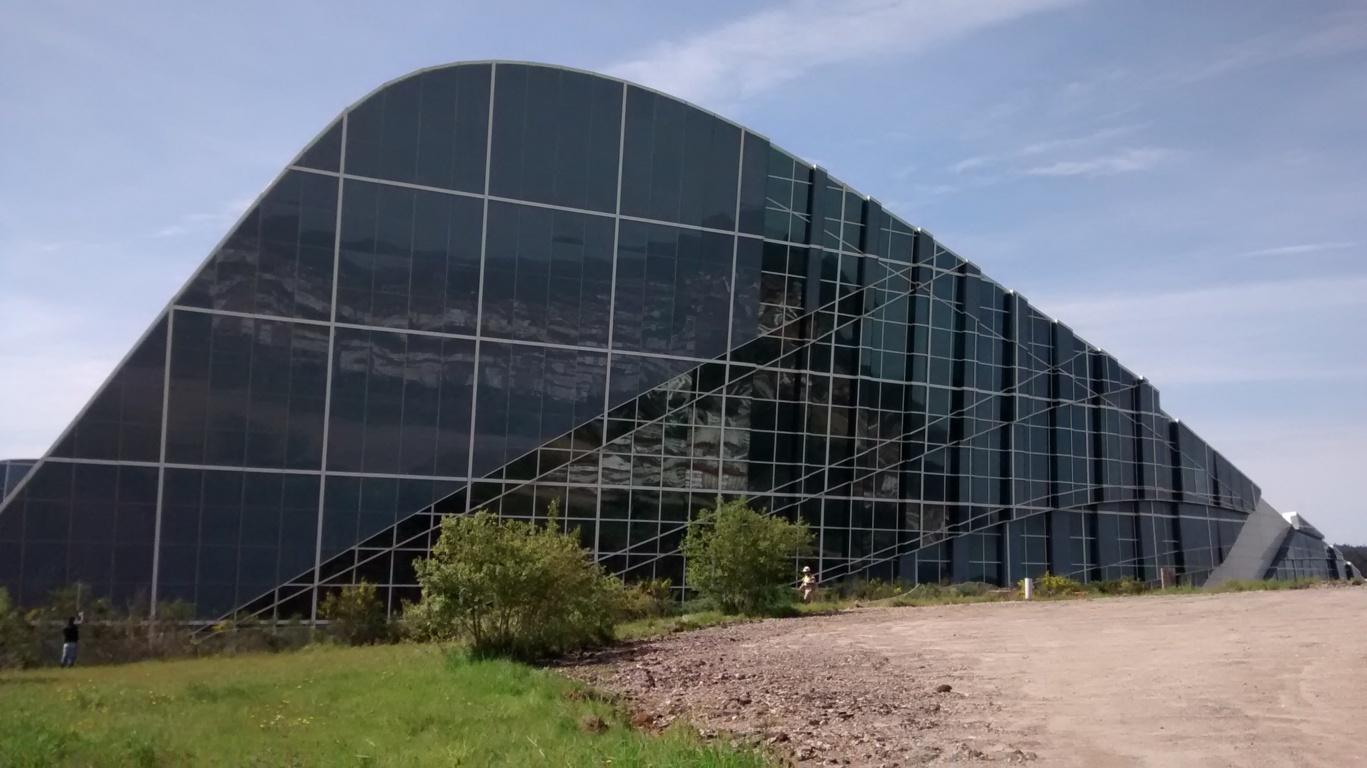 Vista 1- Museo Centro Gaiás