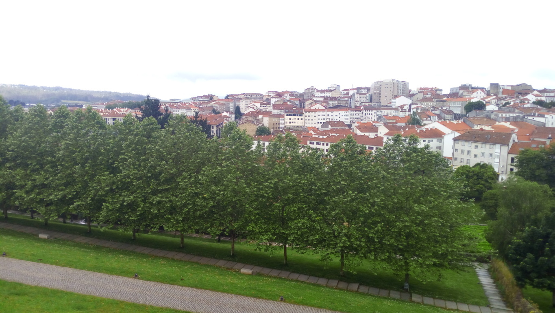 Desde parque de Belvís zona sur de Compostela