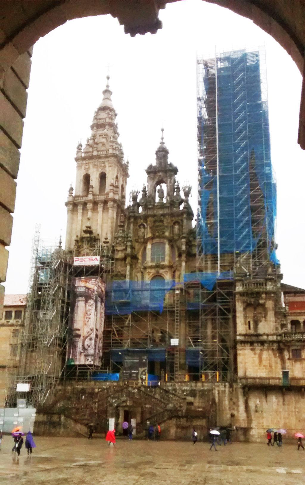 Foto 2 - La Catedral a día de hoy se encuentra en proceso de restauración según se puede ver en esta foto.