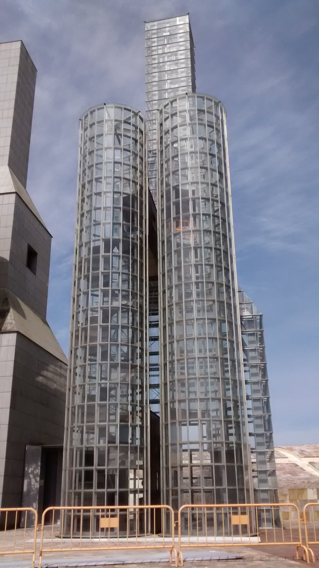 Vista 3 - Torres de John Hejduk