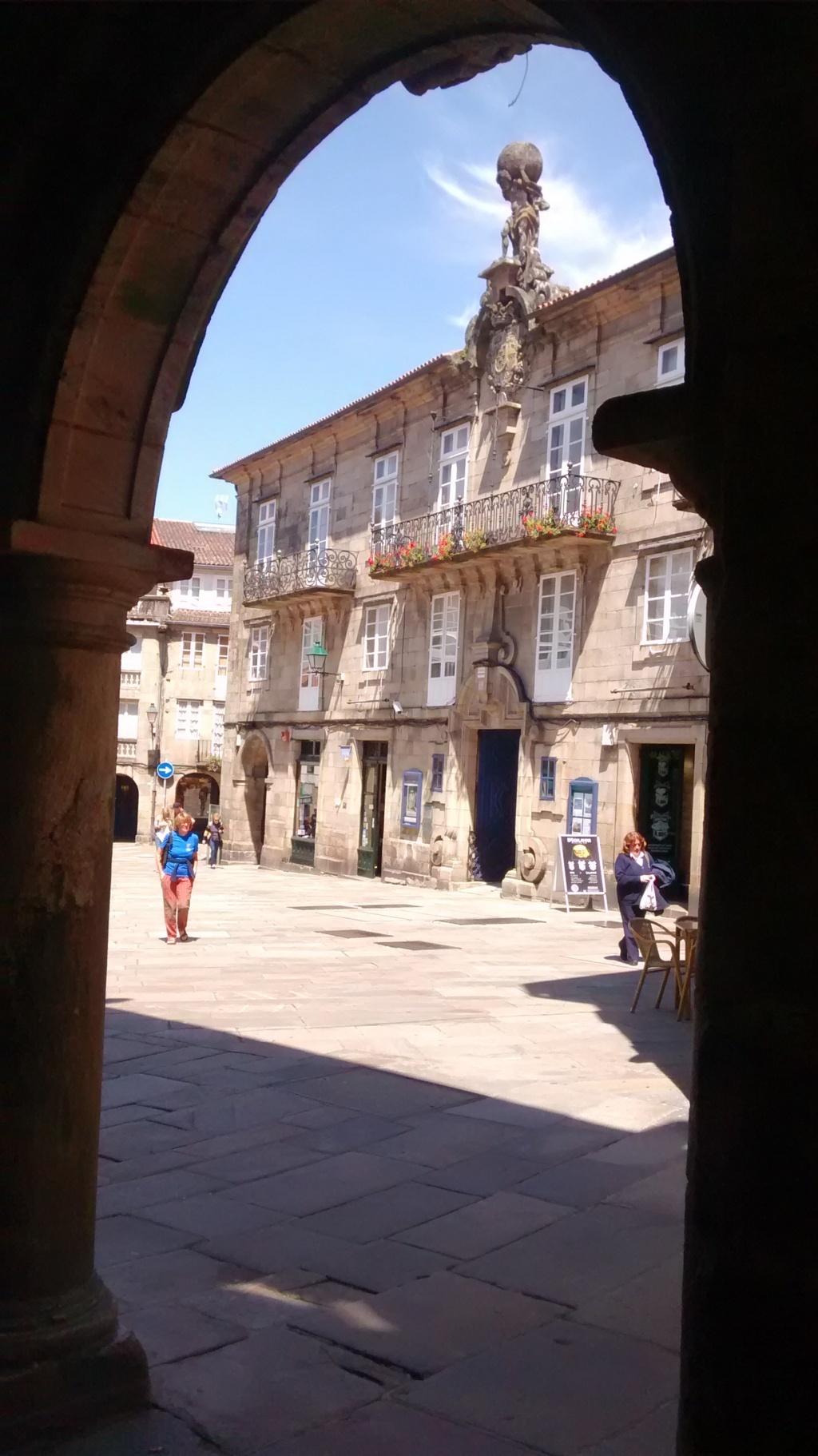 Desde el Cantón del Toral, Plaza del Toral y Pazo de Bendaña (1759)