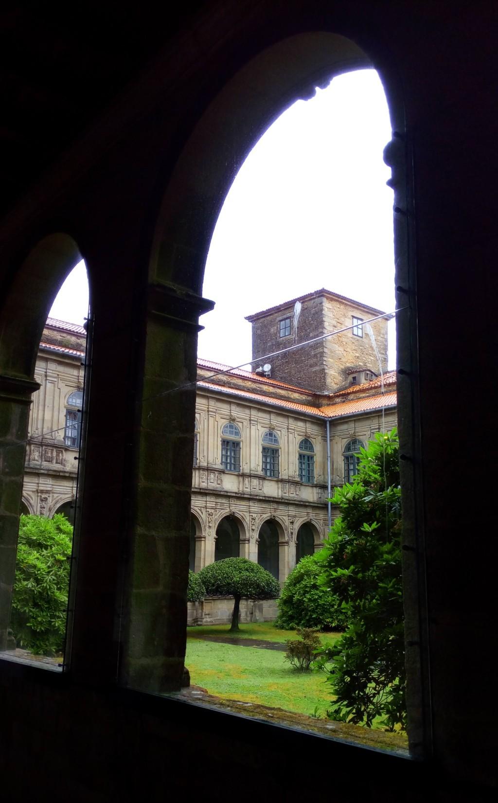Claustro de san Martín Pinario