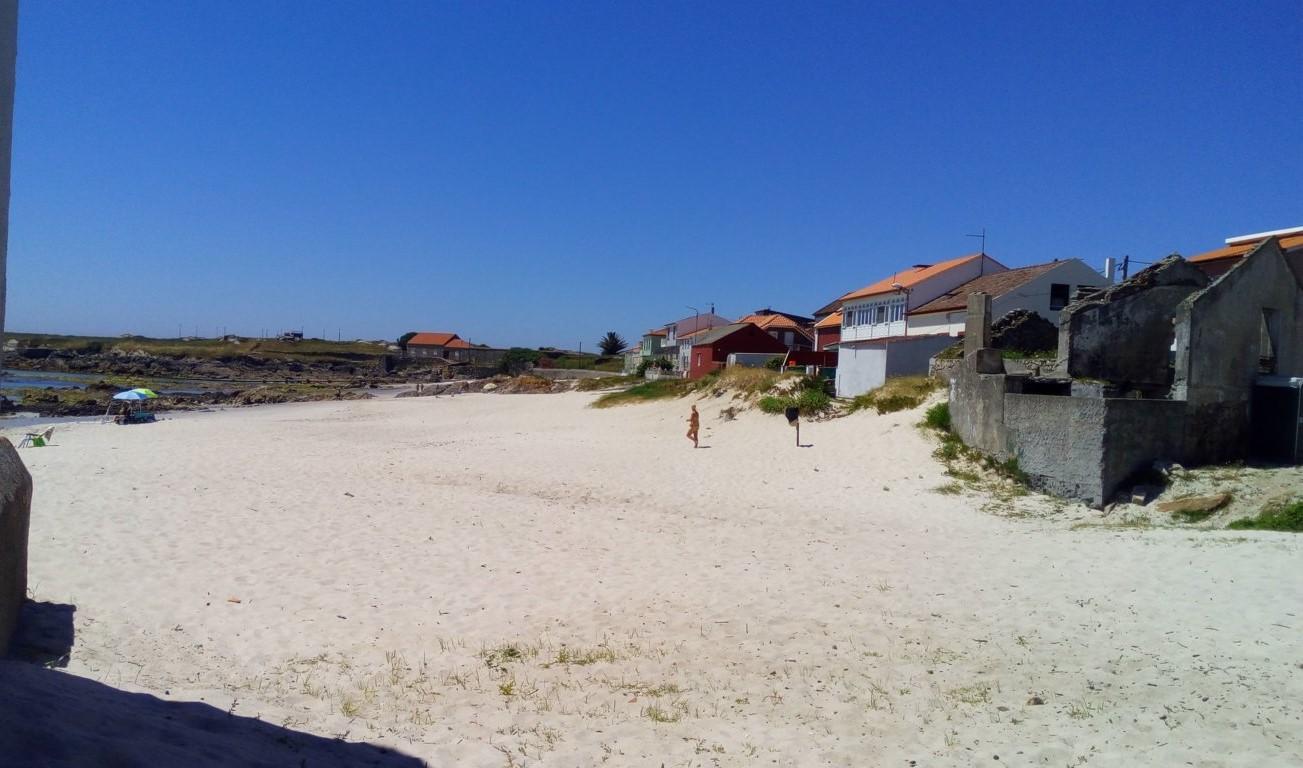 Desde Rúa Prado la playa del Prado