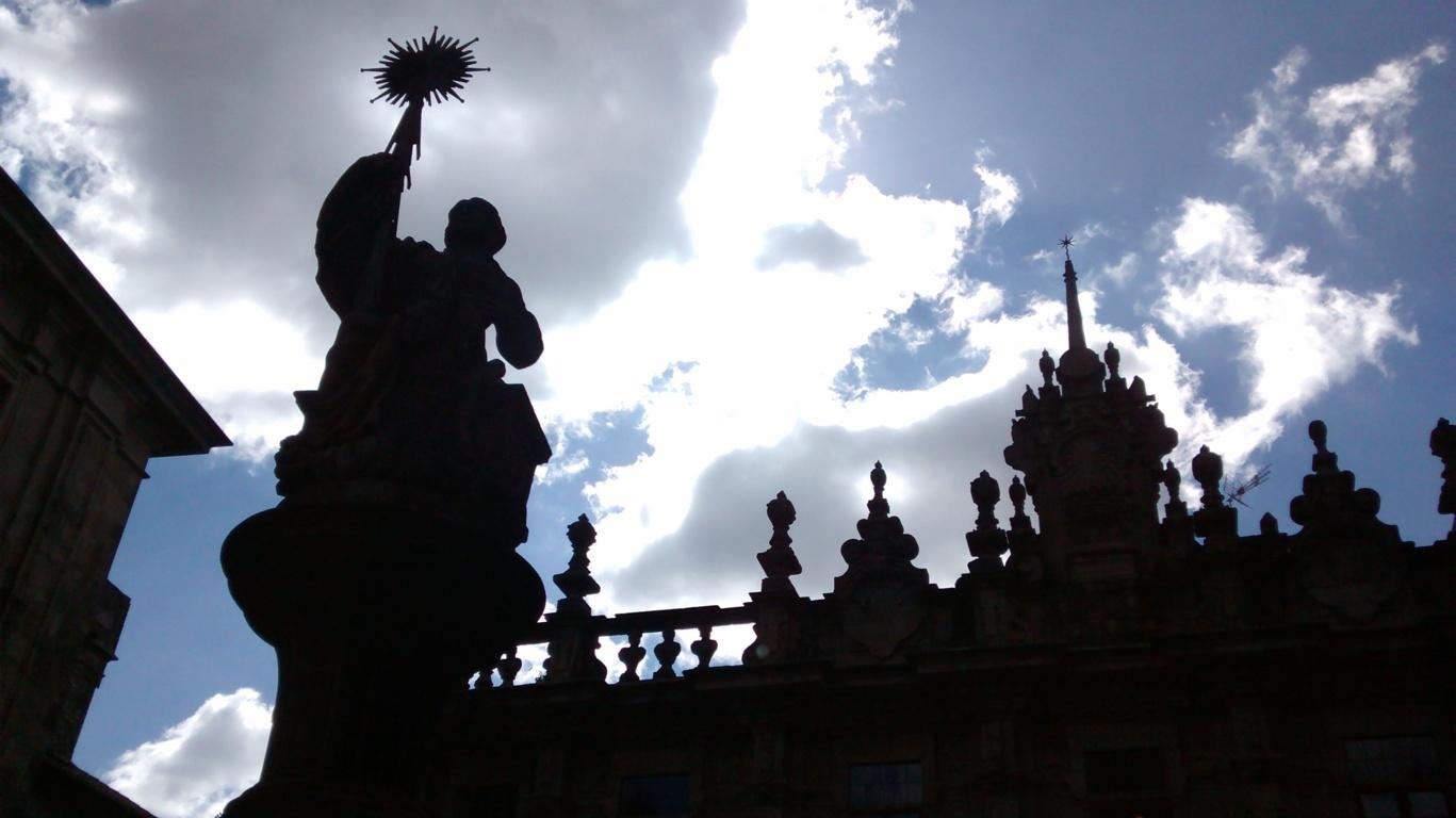 Contraluz, Fuente de los Caballos y Casa del Cabildo