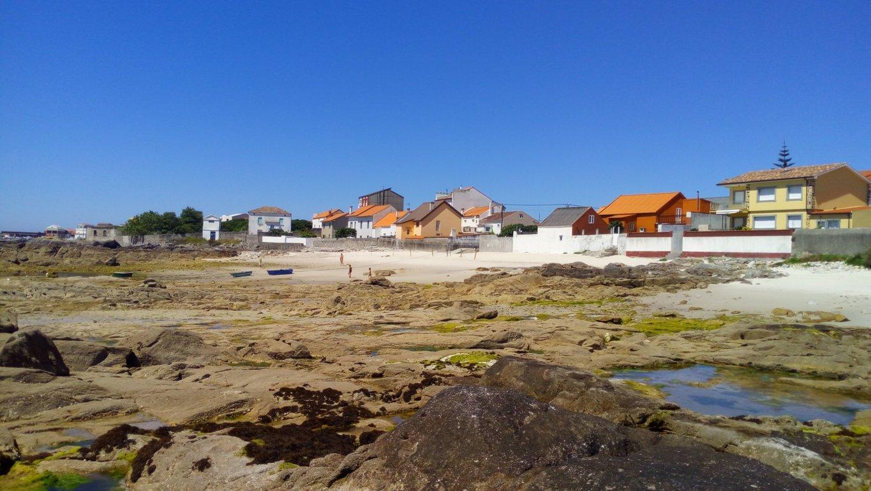 Desde punta Pedrexos, al fondo zona de las Delicias